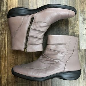 HOTTER CATRINA Tan Leather Ankle Boot